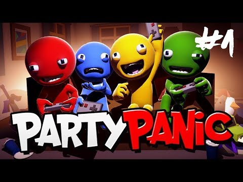 LETS THE PARTY BEGIN!!! | Party Panic w/ SimplyMagliris