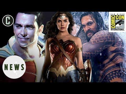 Wonder Woman 1984, Aquaman, Shazam! Coming to Comic-Con