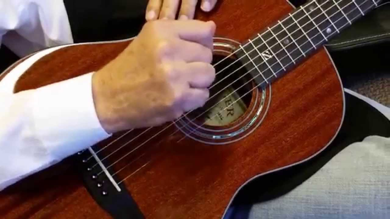 zager easy play 3 4 travel size guitar walkaround 2015 model youtube. Black Bedroom Furniture Sets. Home Design Ideas