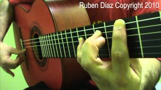 Proper position & angle of the thumb 3 (Beginners) flamencoguitarlessons.eu/