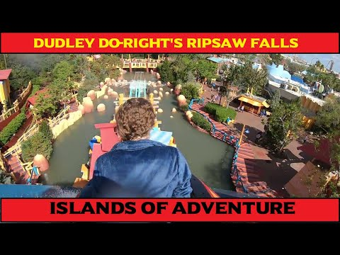 Dudley Do-Right's Ripsaw Falls POV Universal Orlando