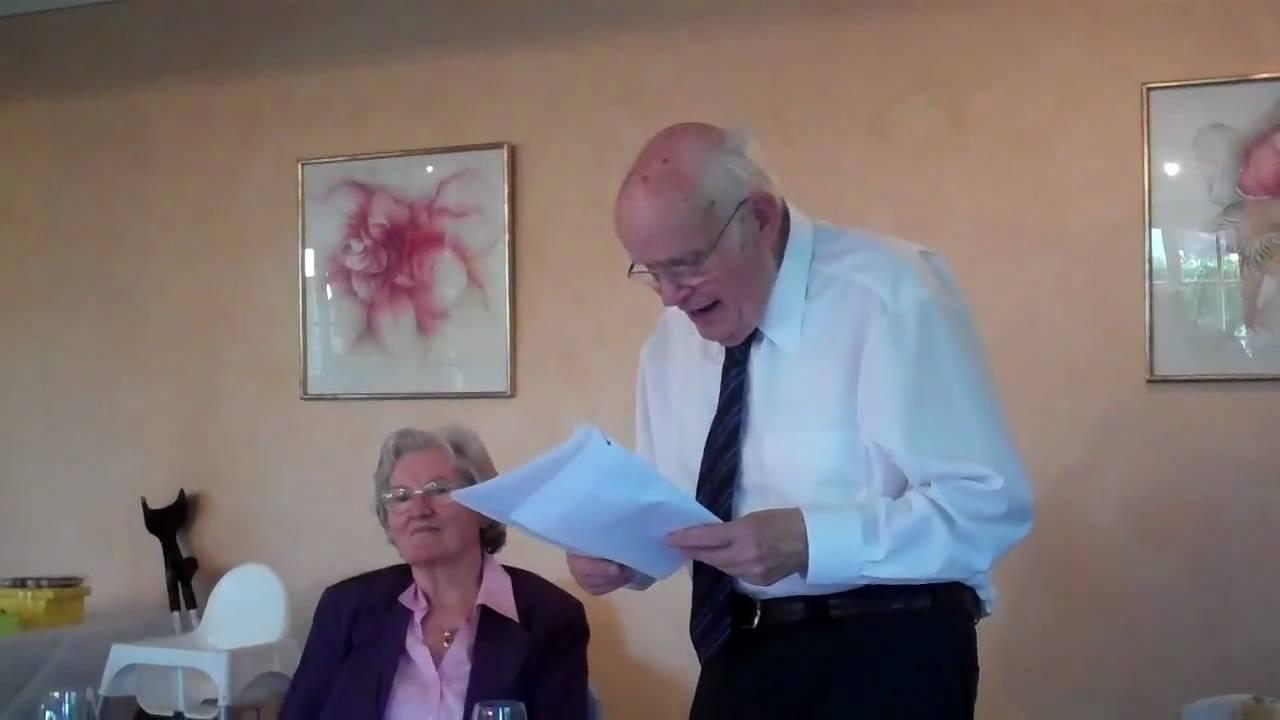 Herberts Rede Zum 80 Geburtstag Von Elfriede Teil I Youtube