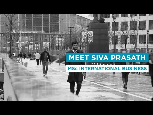 Meet Siva Prasath: MSc International Business Student at EMLV Paris