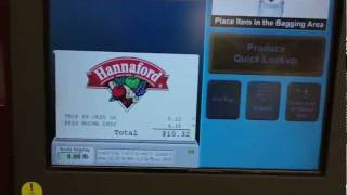 IBM Self-Checkout Register @ Hannaford (Twin City Plaza, Leominster, MA)