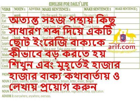 দৈনন্দিন জীবনে ইংরেজি ভাষা - ৮  English for Daily Life - 8