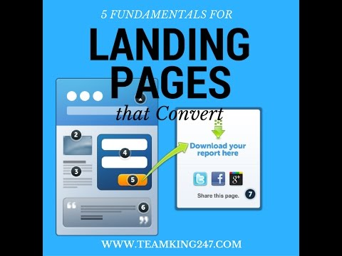 QUICK TIP: 5 Fundamentals for Creating Landing Pages that Convert