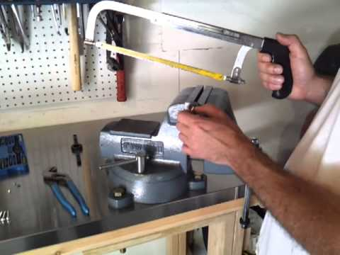 How To Cut a Bolt and Save the Threads !!!