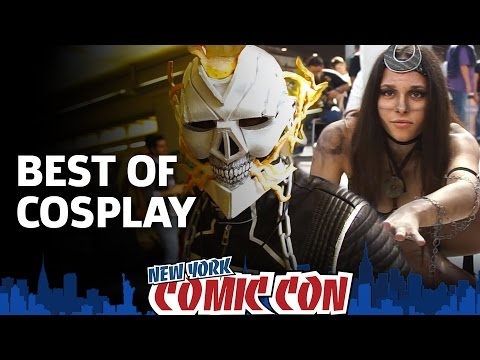 Best of Cosplay from New York Comic Con 2016