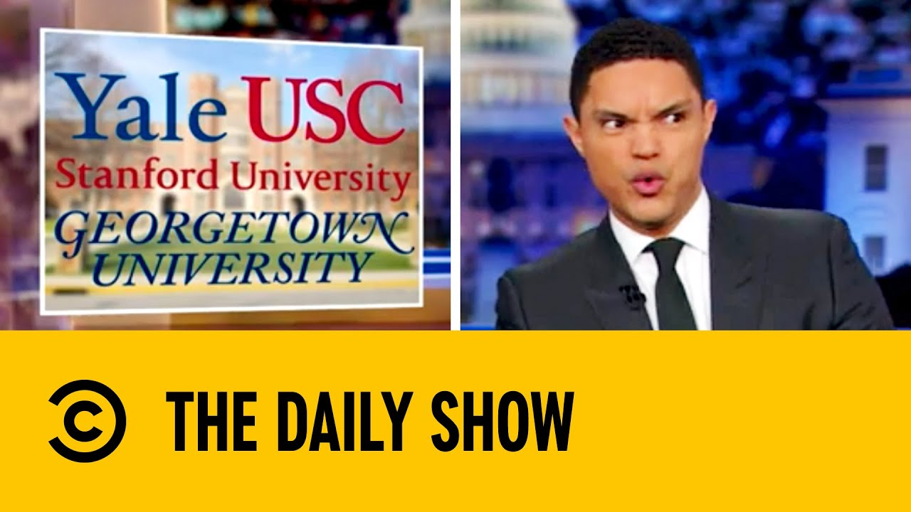 Parents Bribe Their Kids Into College Expulsion | The Daily Show with Trevor Noah