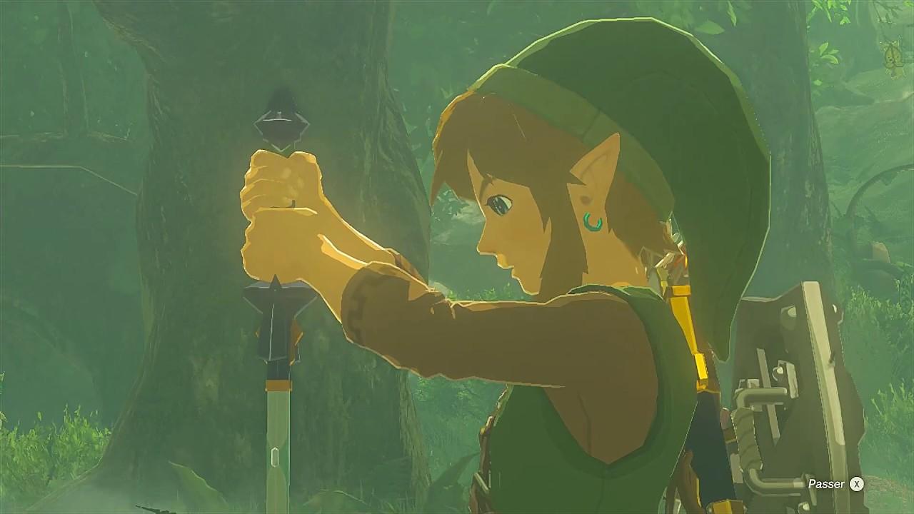 Zelda Breath of the Wild fr - Épreuve Basic de l'Épée