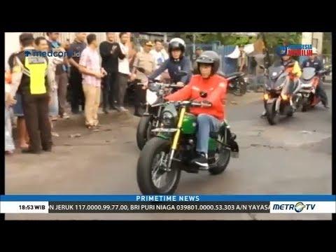 Naik Motor, Jokowi Blusukan ke Pasar Anyar Tangerang Mp3