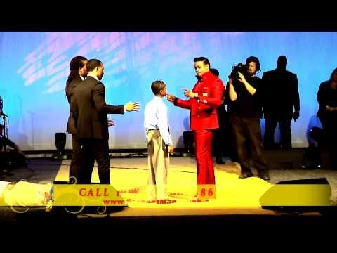 """Prophet Manasseh Jordan - """"Must see"""" 8 year old receives Prophetic Anointing"""