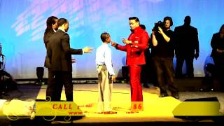 "Prophet Manasseh Jordan - ""Must see"" 8 year old receives Prophetic Anointing"