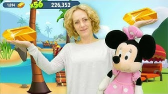 Spielspaß mit Minnie und Nicole - Wir spielen Talking Tom Gold Run