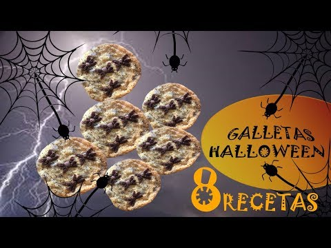 Galletas con Arañas para Halloween por el canal Rock Im Ofen