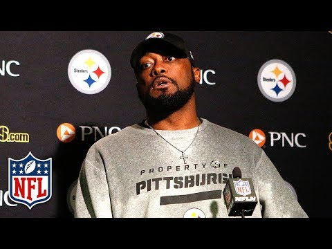 Mike Tomlin Responds to Shazier Injury, JuJu Penalty & Comeback | Steelers/Bengals Press Conference
