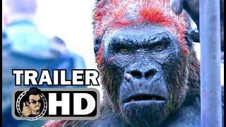 WAR FOR THE PLANET OF THE APES Final Trailer (2017) Andy Serkis Sci-Fi Movie HD