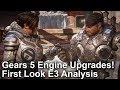 [4K] Gears 5 Engine Upgrades! First Look Trailer Analysis!