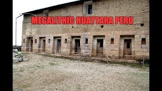 Megalithic Wonder At Huaytara Near Paracas Peru