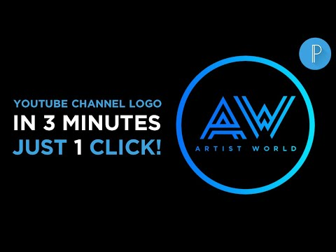 PROFESSIONAL LOGO DESIGN FOR YOUTUBE CHANNEL ON ANDROID | BEST FONT FOR LOGO | #ART15TW0RLD #AW
