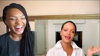 RIHANNA'S NIGHTIME SKINCARE ROUTINE REACTION