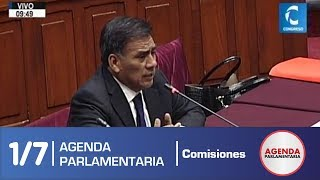 Sesión Comisión de Constitución 1/7 (18/06/19)