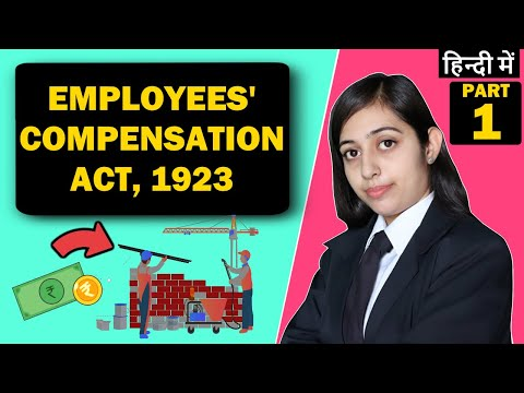 Employee Compensation Act 1923 | Labour Law