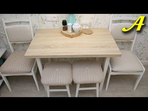 Кухонные столы и стулья своими руками фото
