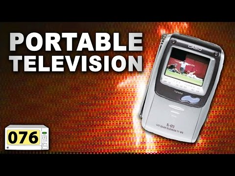 Microwave A Portable Television (#076)