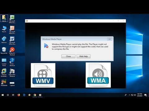 Fix WMA & WMV File Format Not Playing In Windows Media Player (Windows 10)