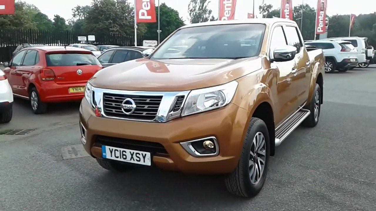 Nissan Navara Double Cab Pick Up N Connecta 23dci Yc16xsy Youtube