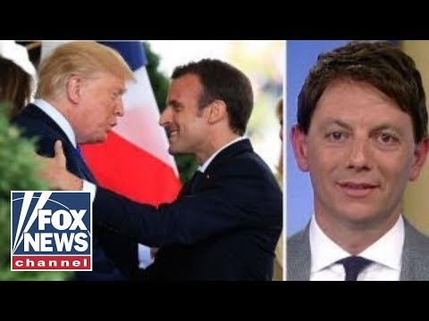 Hogan Gidley on Macron's 'special relationship' with Trump