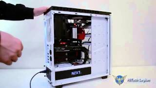 nZXT H440 Mid-Tower Case Component Installation