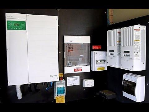 Hybrid solar system review - Schneider Conext XW+ DC coupled