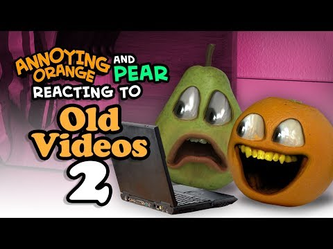 Annoying Orange - Reacting to Old Videos #2: Rolling in the Dough, Monster Burger, Kitchen Carnage