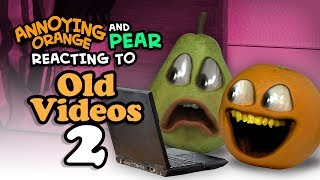 Annoying Orange - Reacting to Old Videos #2: Rolling in the Dough, Monster Burger, Kitchen Carnage Video