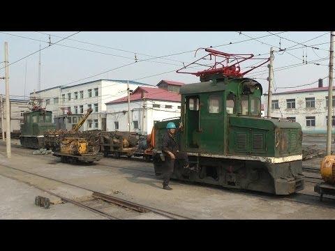 Narrow gauge mining railways in Fuxin / China