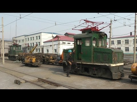 Narrow gauge mining railways in Fuxin / China