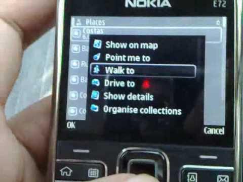 Nokia E72 : GPS and Compass