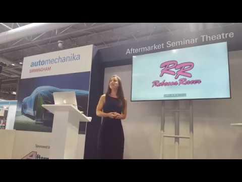 Making Dreams a Reality: Morris Lubricants ambassador Rebecca Jackson - Automechanika 2018