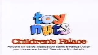 Children's Palace Toy Nuts Commercial (1991)
