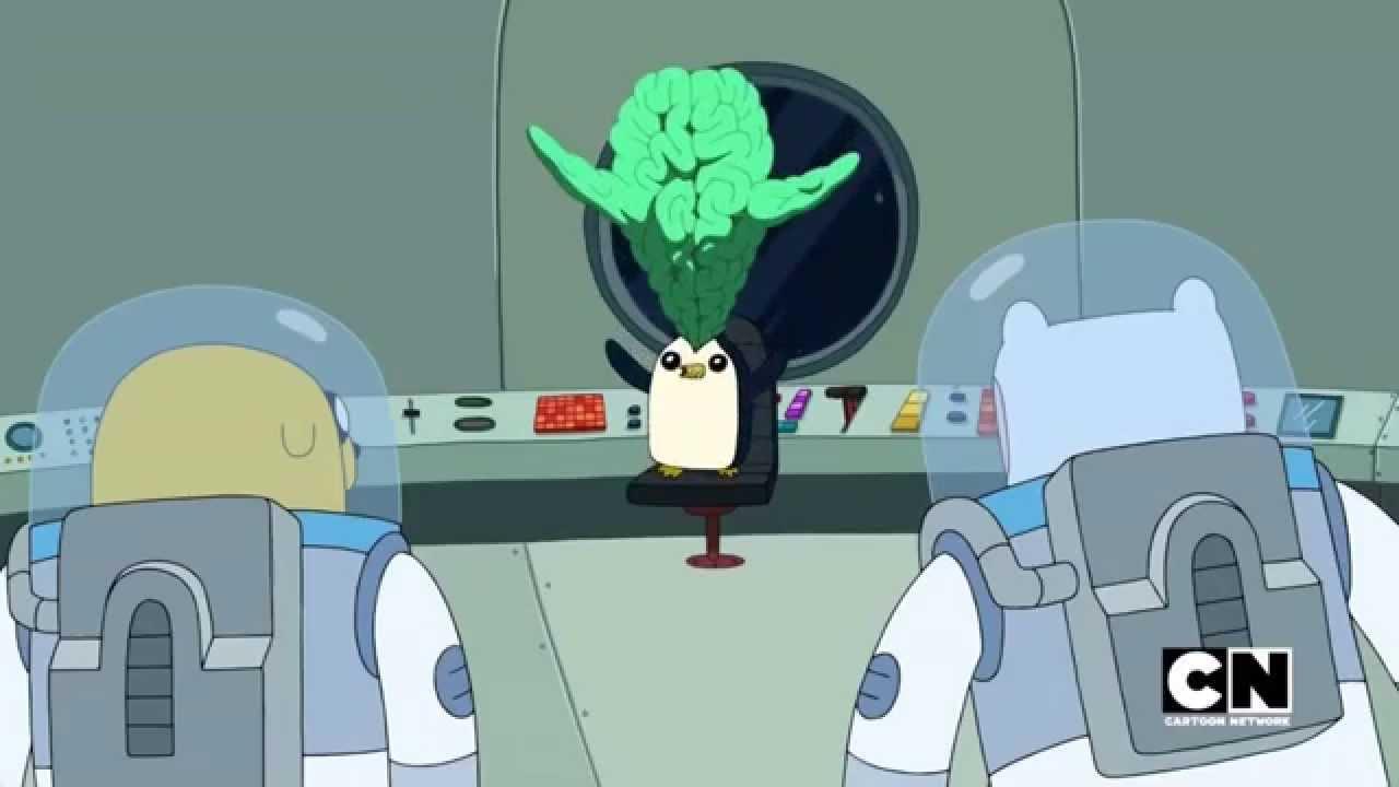 Adventure Time | Gunter Turns into Orgalorg... | The Comet ...