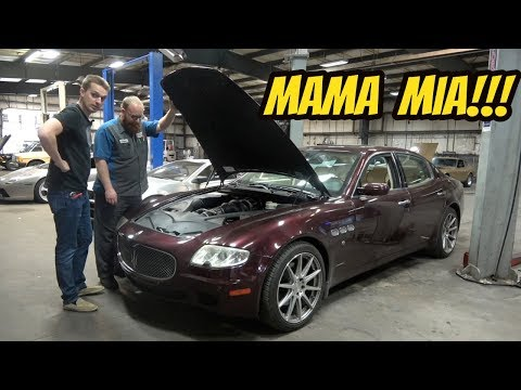 Here's Everything that's Broken on My Cheap Maserati Quattroporte