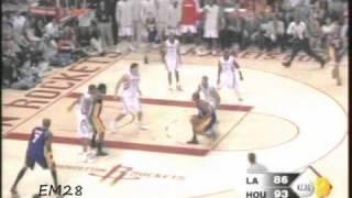 Kobe Bryant ankle breaker on Shane Battier.