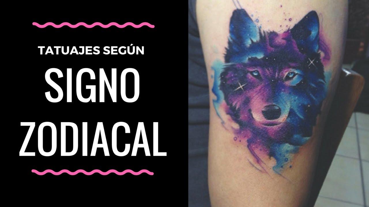 Tatuajes De Animales Según Tu Signo Zodiacal Youtube