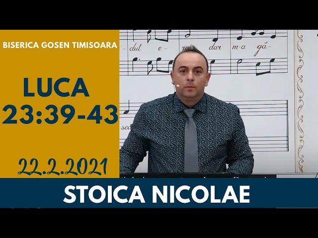 Gosen 22.2.2021 dum seara | Stoica Nicolae