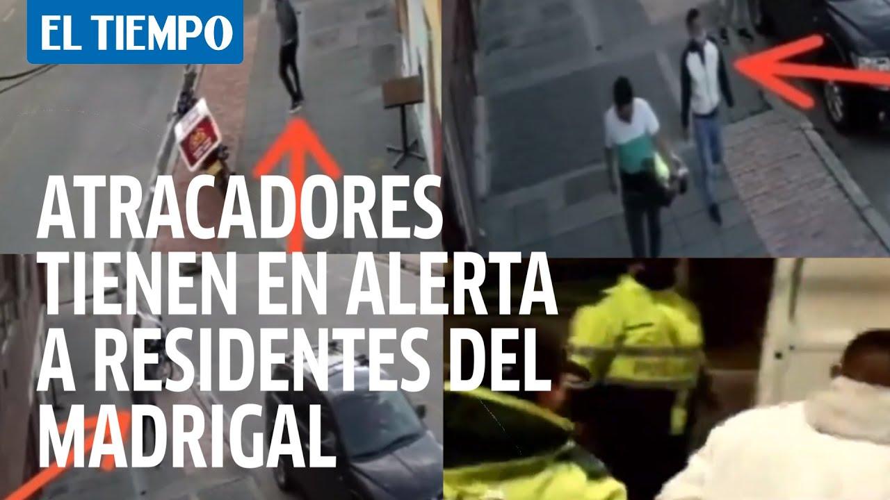 Una banda de atracadores tiene en alerta a los residentes del barrio madrigal