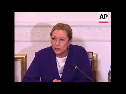 EU delegation arrives for Gaza crisis talks, comments