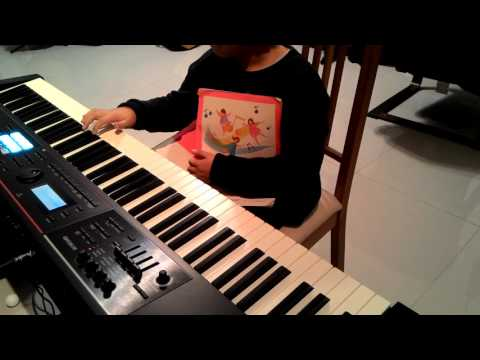 蔡小貝音感測驗 6歲 ROLAND JUNO DS88