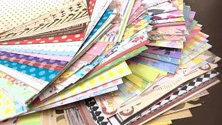 【紙もの】ひたすらポチ袋を作るだけの動画/折り紙大量消費 【293】